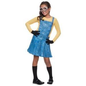 minion costume for girl